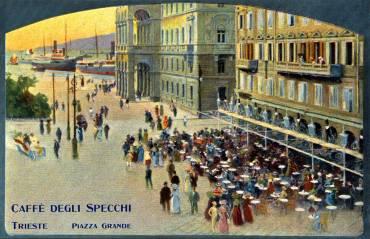 Misterkappa cartoline pubblicitarie di alberghi e ristoranti pagina 4 - Caffe degli specchi ...
