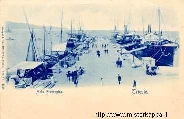 Trieste Molo Giuseppina